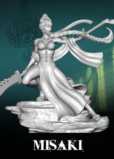Limited Edition - Vintage - Misaki - Wyrd Miniatures - Online Store