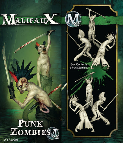 Punk Zombies (3 pack)