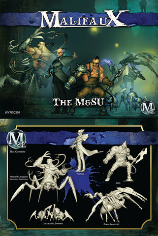 The M&SU - Ramos Box Set - Wyrd Miniatures - Online Store
