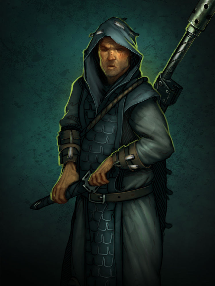 Limited Edition - Katanaka Sniper - Wyrd Miniatures - Online Store