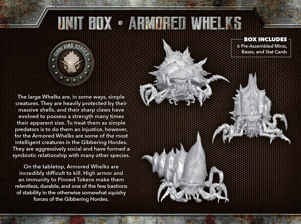 Load image into Gallery viewer, Armored Whelks - Wyrd Miniatures - Online Store