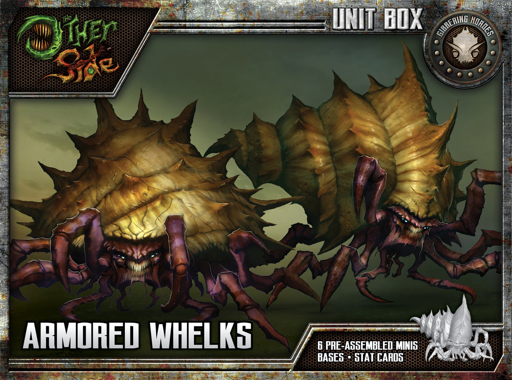 Armored Whelks - Wyrd Miniatures - Online Store