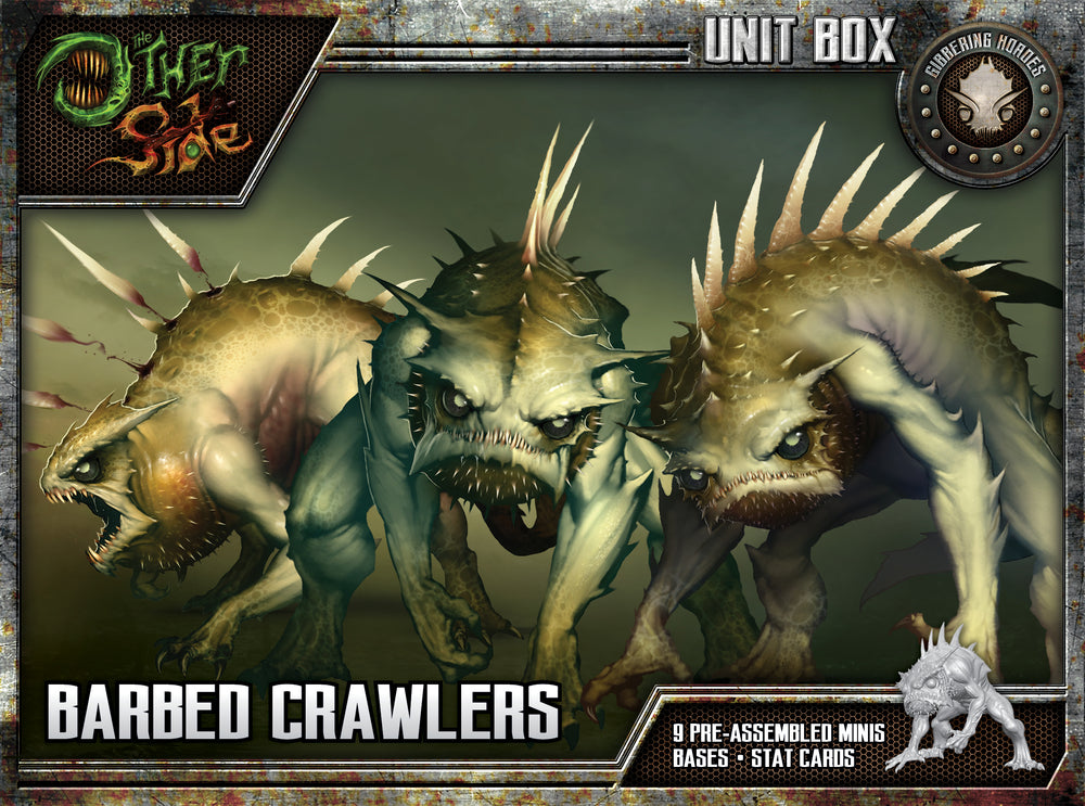 Barbed Crawlers - Wyrd Miniatures - Online Store
