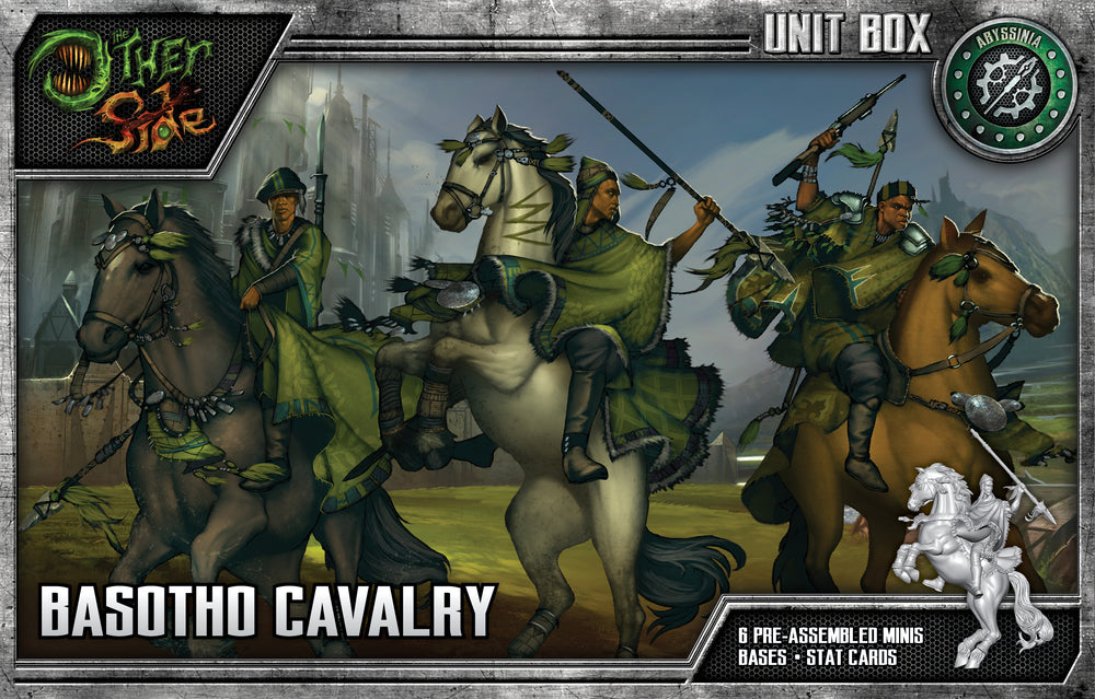 Load image into Gallery viewer, Basotho Calvary - Wyrd Miniatures - Online Store