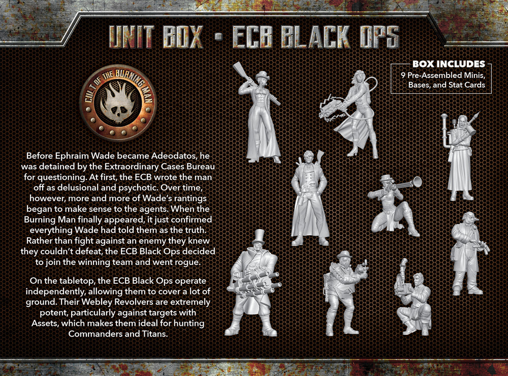Load image into Gallery viewer, ECB Black Ops - Wyrd Miniatures - Online Store
