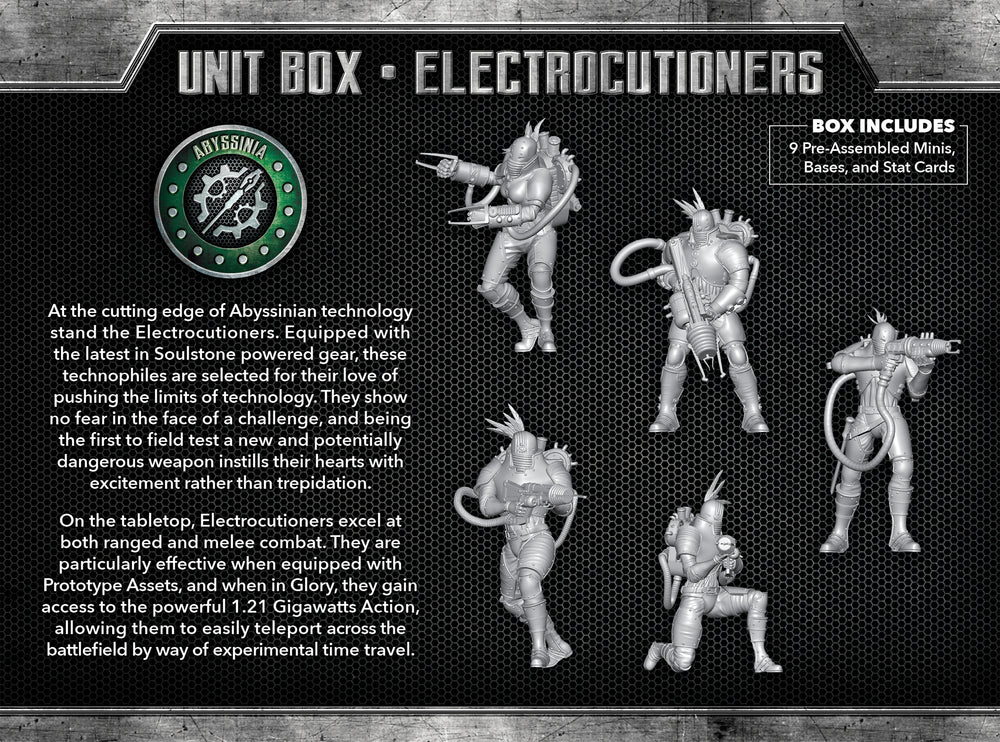 Load image into Gallery viewer, Electrocutioners - Wyrd Miniatures - Online Store