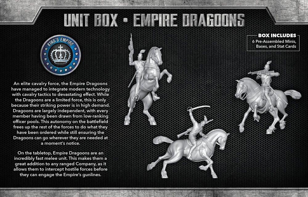 Load image into Gallery viewer, Empire Dragoons - Wyrd Miniatures - Online Store