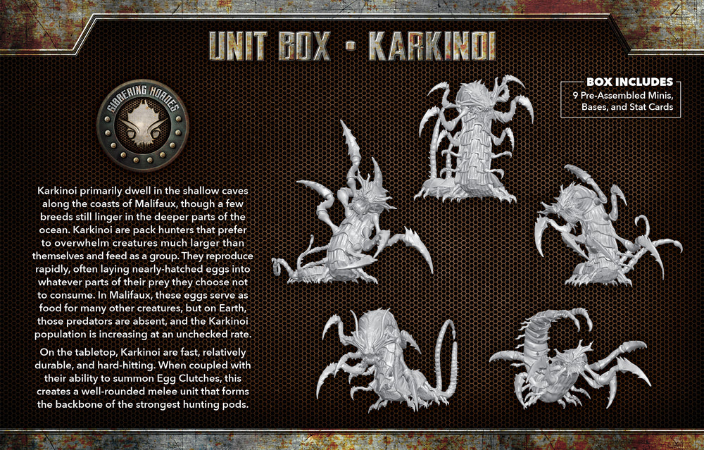 Load image into Gallery viewer, Karkinoi - Wyrd Miniatures - Online Store