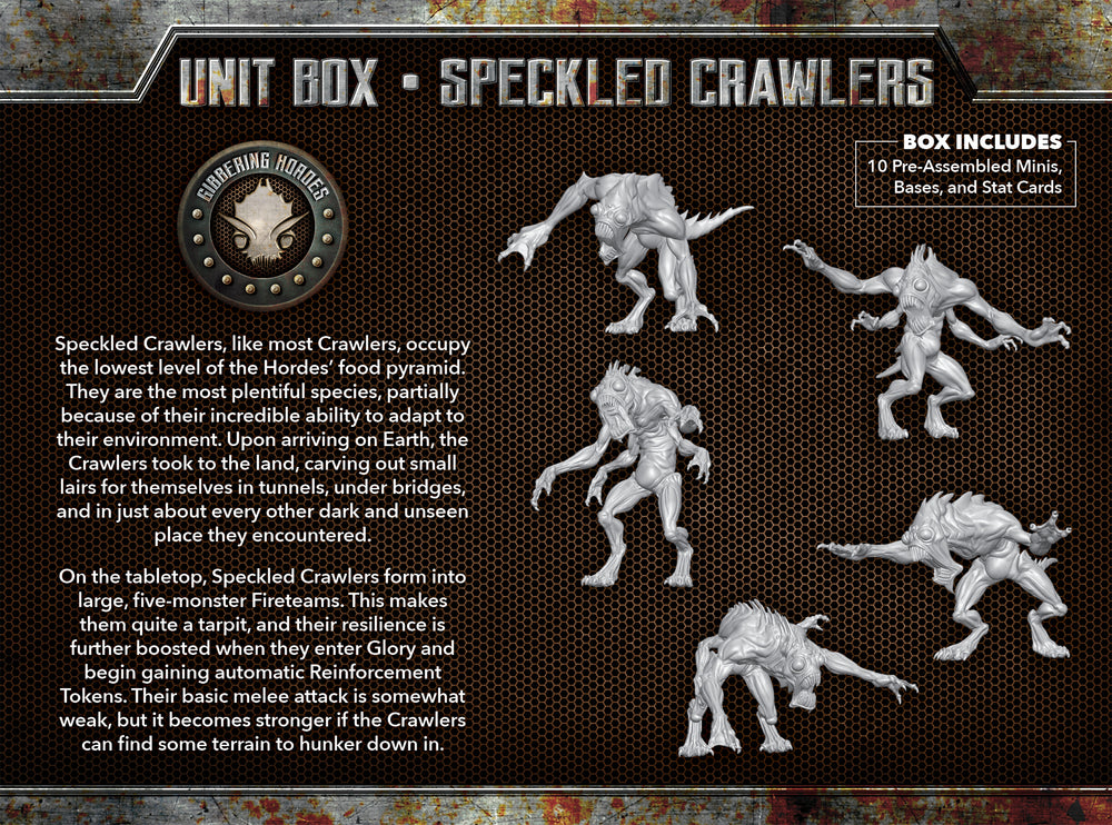 Speckled Crawlers - Wyrd Miniatures - Online Store