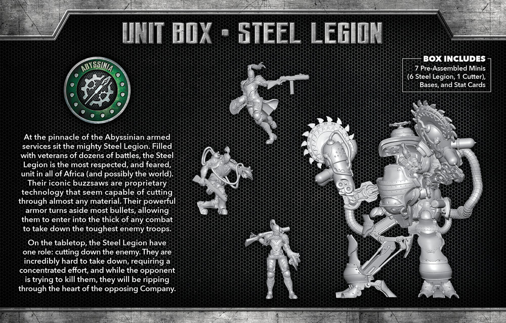 Load image into Gallery viewer, Steel Legion - Wyrd Miniatures - Online Store