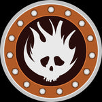 TOS - Patch: Cult of the Burning Man - Wyrd Miniatures - Online Store