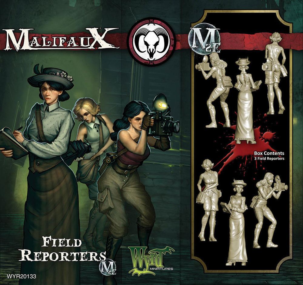 Field Reporters (3 pack) - Wyrd Miniatures - Online Store