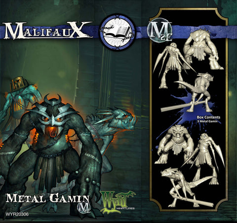 Metal Gamin (3 pack)