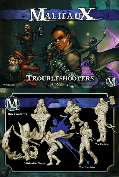 Troubleshooters - Ironsides Box Set - Wyrd Miniatures - Online Store
