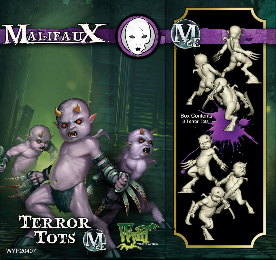 Terror Tots (3 pack) - Wyrd Miniatures - Online Store