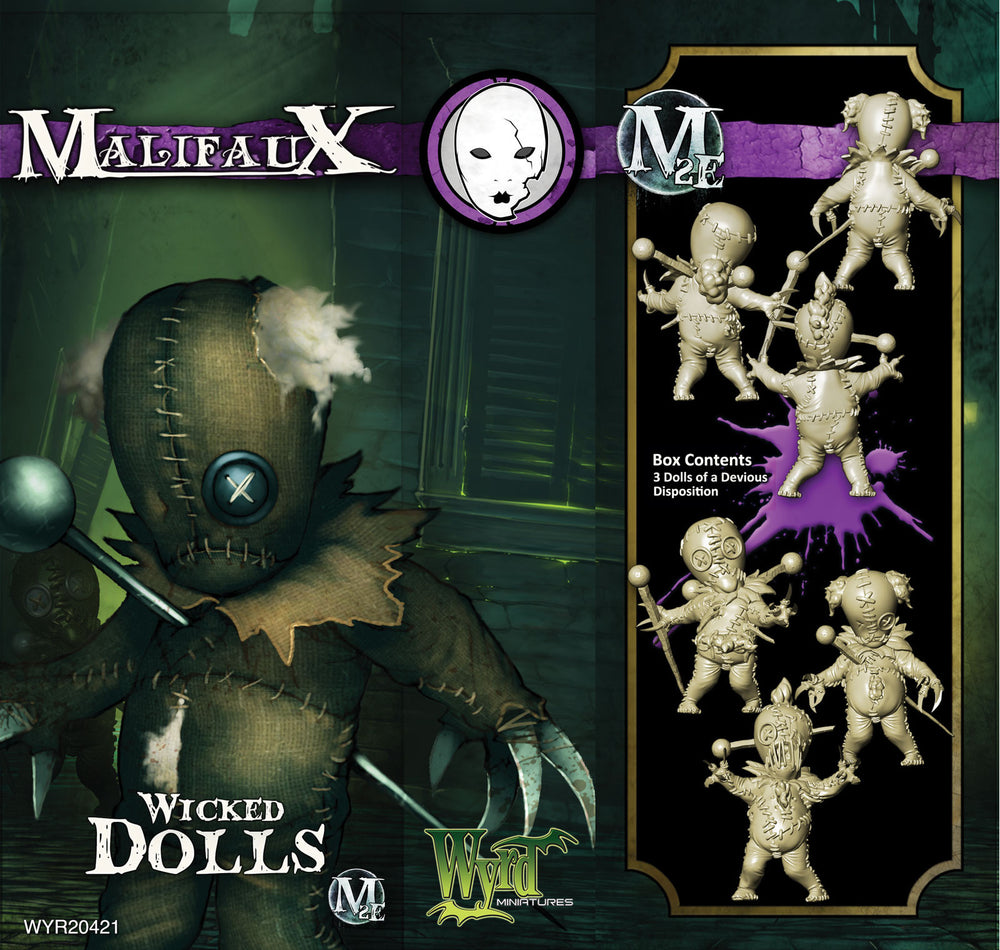 Wicked Dolls (3 Pack) - Wyrd Miniatures - Online Store