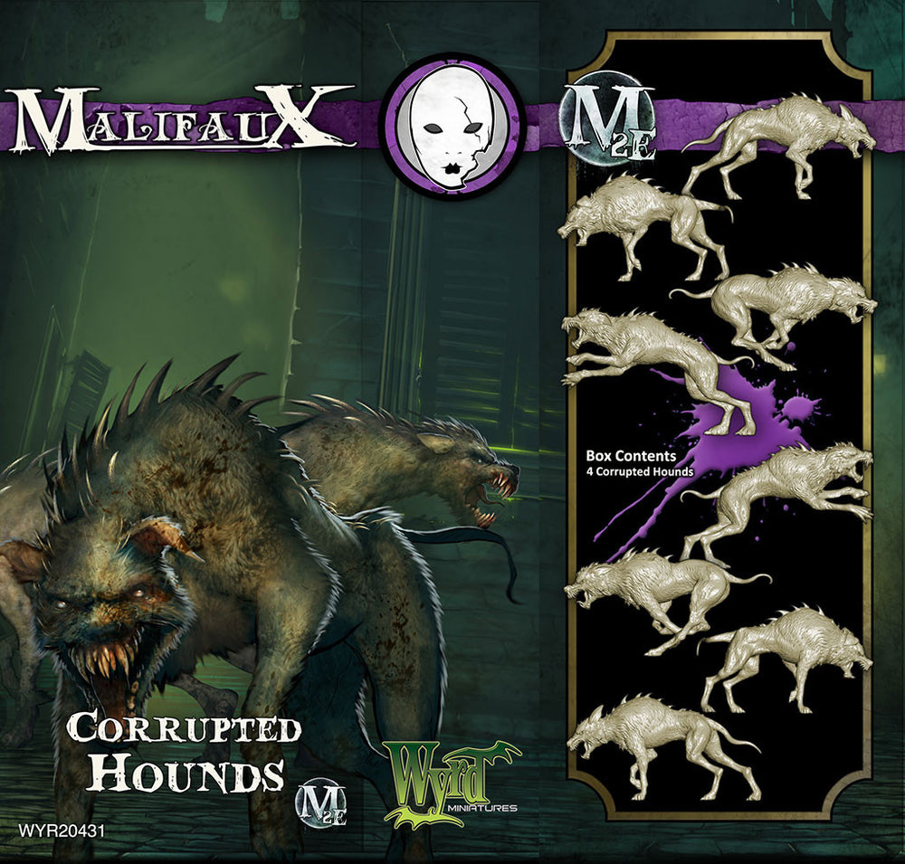 Corrupted Hounds (4 Pack) - Wyrd Miniatures - Online Store
