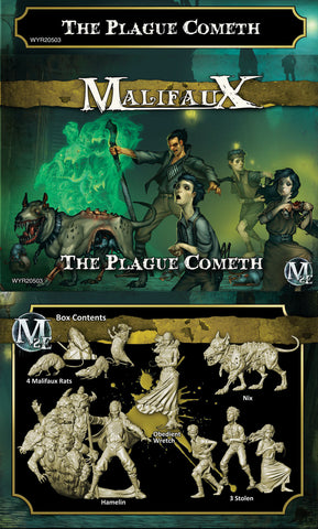 The Plague Cometh - Hamelin Box Set - Yellow Transparent