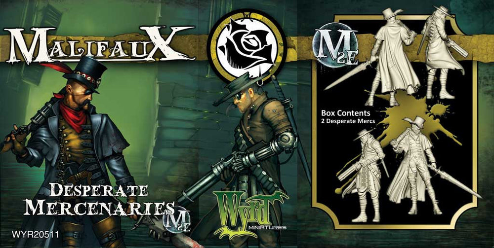 Desperate Mercenaries - Wyrd Miniatures - Online Store