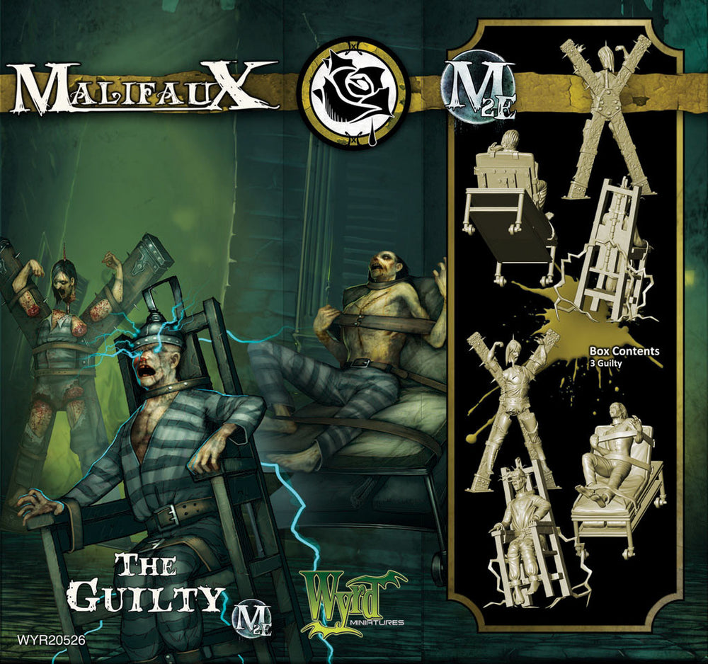 The Guilty (3 Pack) - Wyrd Miniatures - Online Store