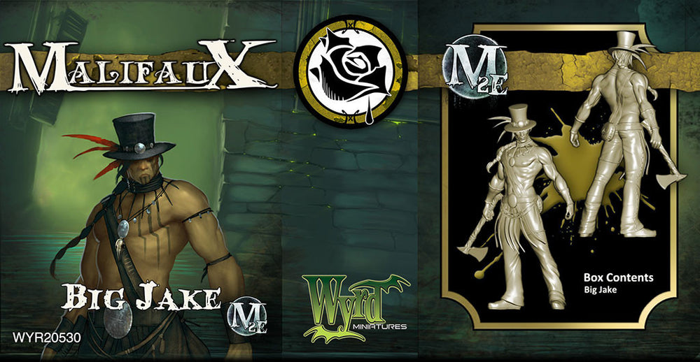 Big Jake - Wyrd Miniatures - Online Store