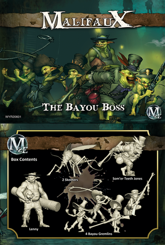 The Bayou Boss - Som'er Box Set - Wyrd Miniatures - Online Store