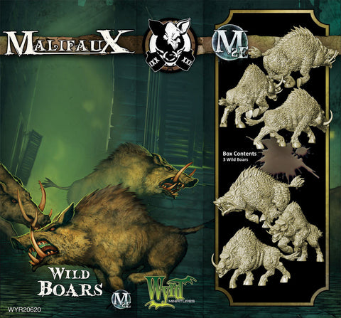 Wild Boar (3 Pack) - Wyrd Miniatures - Online Store