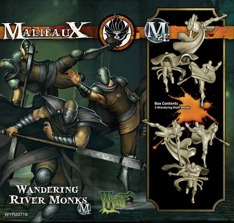 Wandering River Monks (3 Pack) - Wyrd Miniatures - Online Store