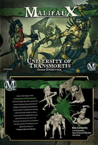 The University of Transmortis - Story Encounter