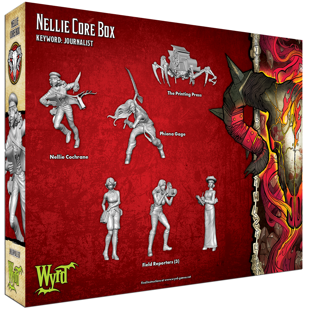 Load image into Gallery viewer, Nellie Core Box - Wyrd Miniatures - Online Store