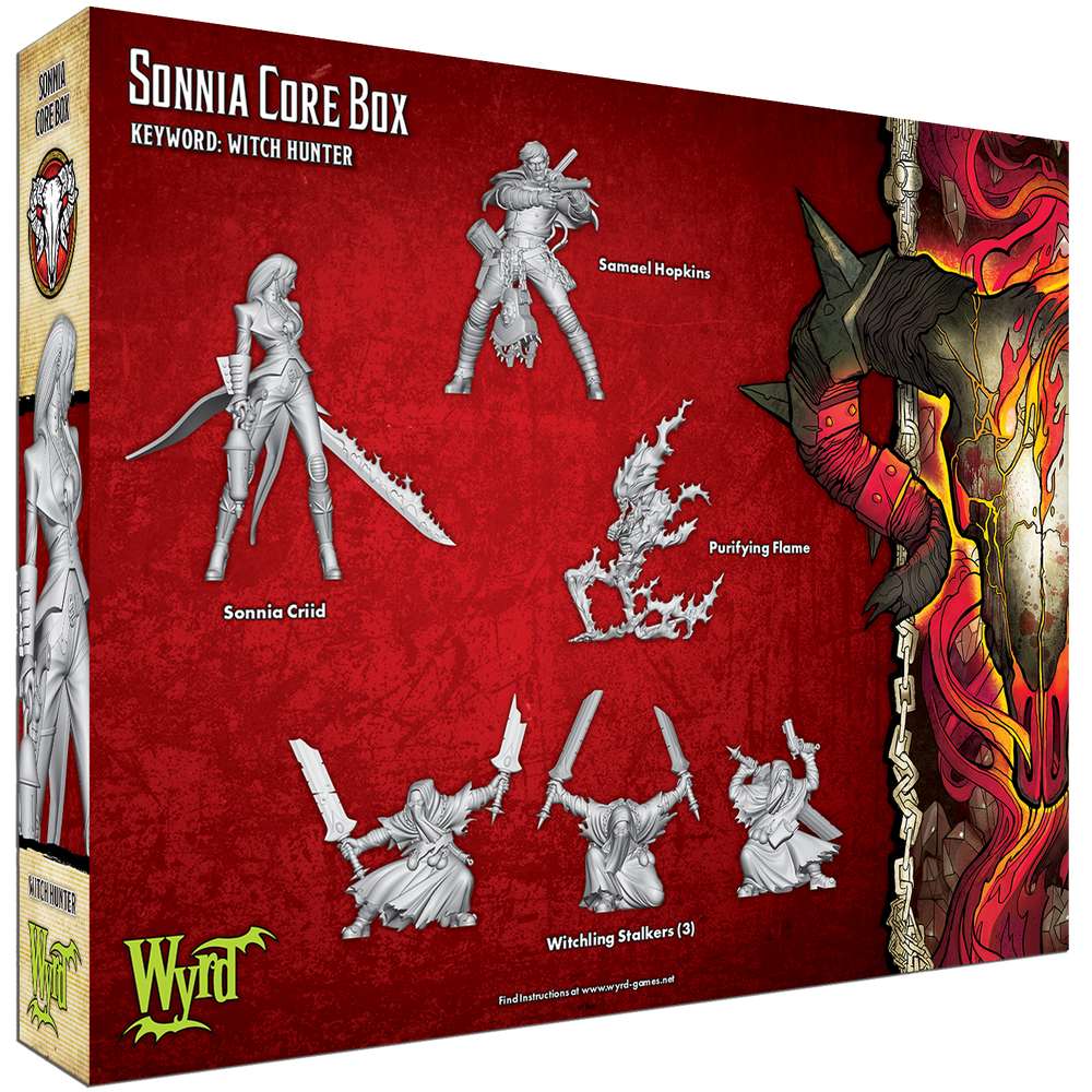 Load image into Gallery viewer, Sonnia Core Box - Wyrd Miniatures - Online Store
