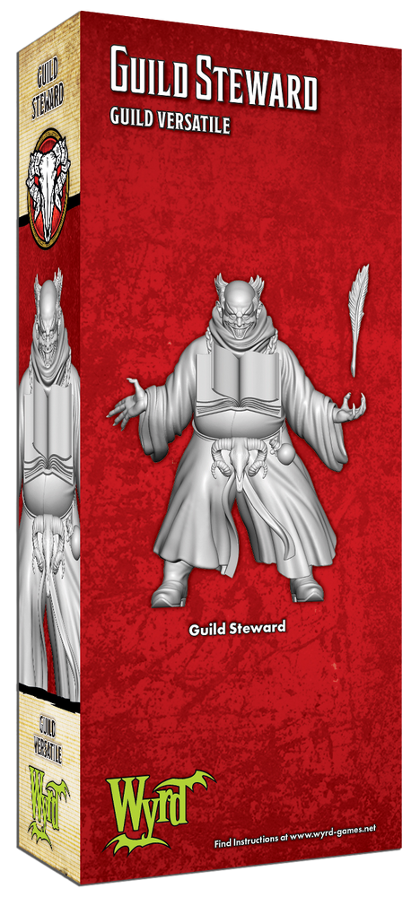 Load image into Gallery viewer, Guild Steward - Wyrd Miniatures - Online Store