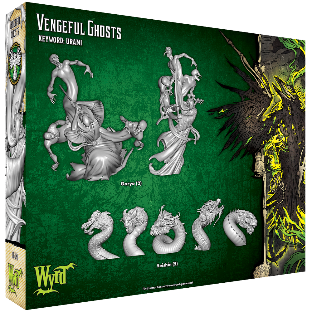 Vengeful Ghosts - Wyrd Miniatures - Online Store