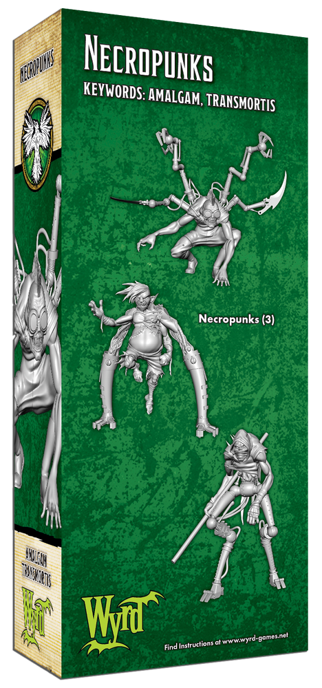Load image into Gallery viewer, Necropunks - Wyrd Miniatures - Online Store