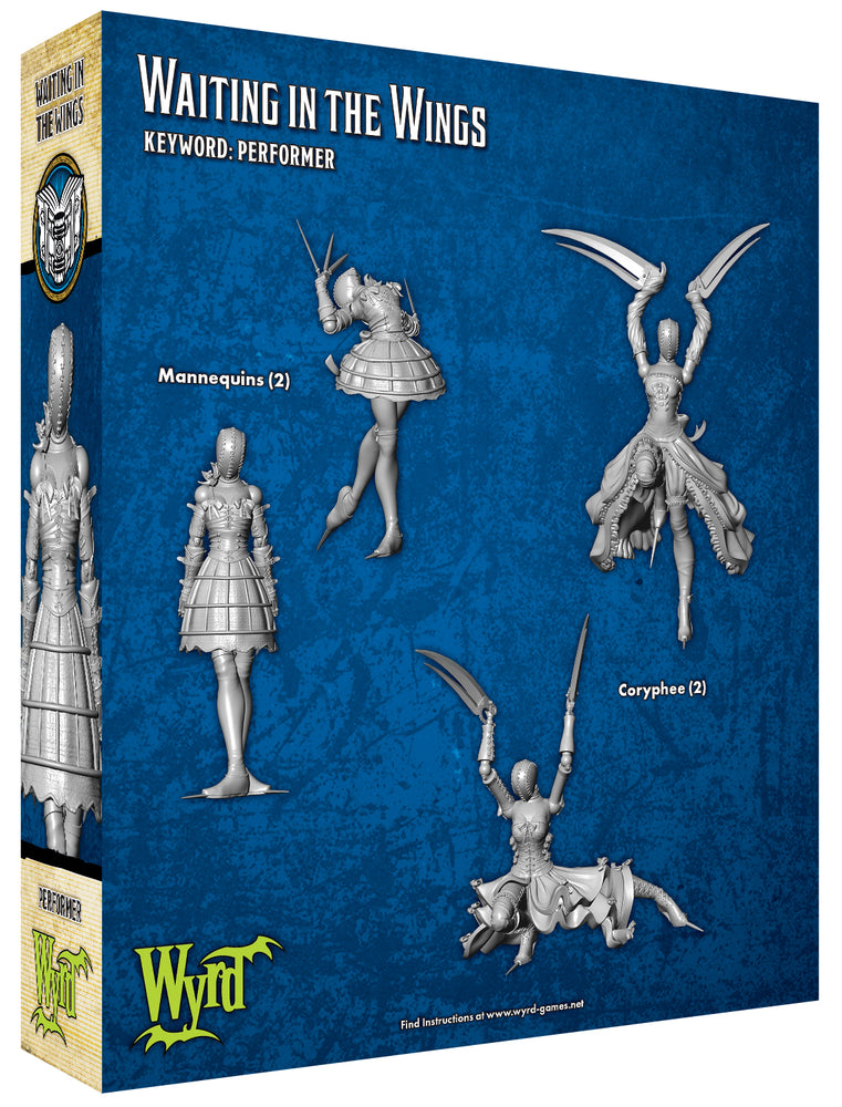 Load image into Gallery viewer, Waiting in the Wings - Wyrd Miniatures - Online Store