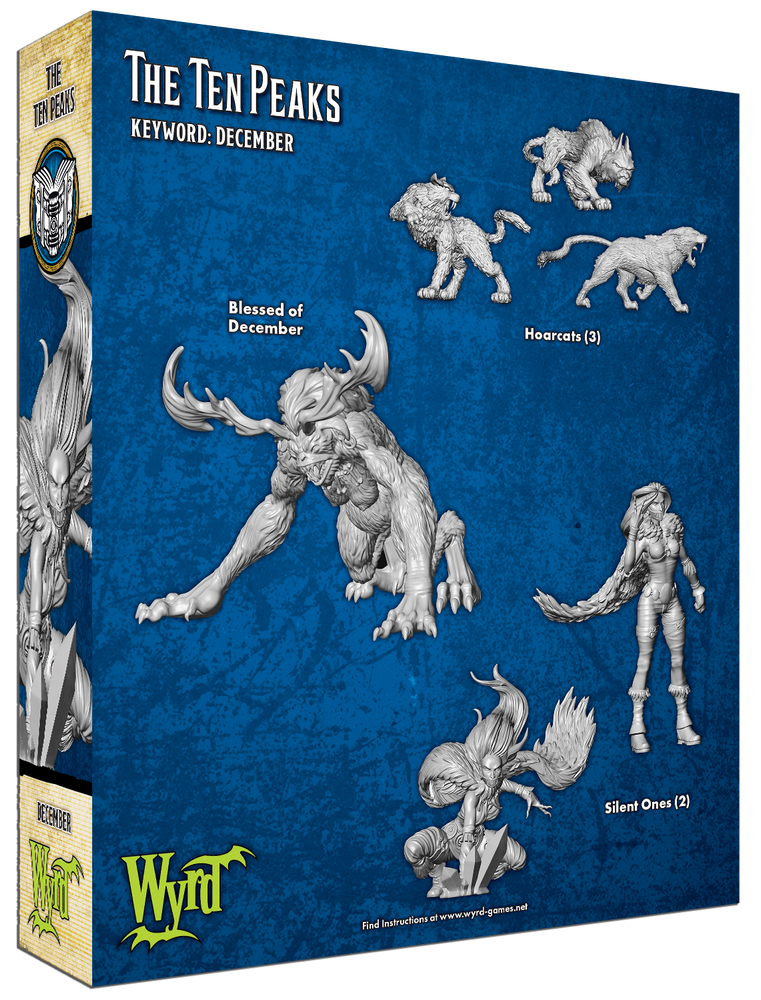 Load image into Gallery viewer, The Ten Peaks - Wyrd Miniatures - Online Store