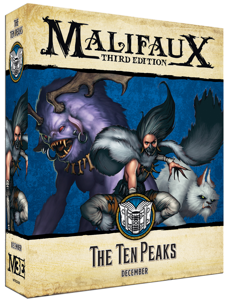 The Ten Peaks - Wyrd Miniatures - Online Store