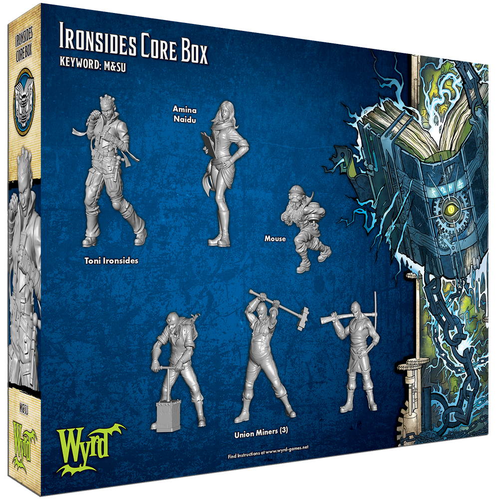 Load image into Gallery viewer, Ironside Core Box - Wyrd Miniatures - Online Store