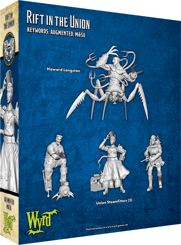 Rift in the Union - Wyrd Miniatures - Online Store