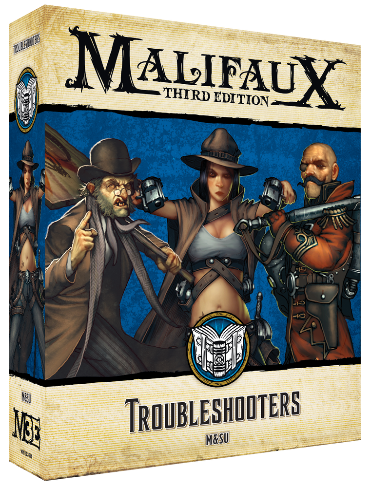 Troubleshooters - Wyrd Miniatures - Online Store