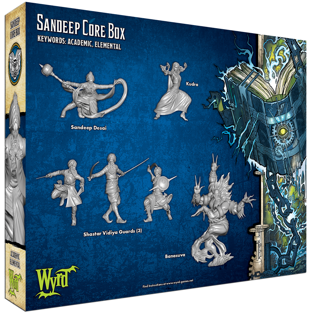 Load image into Gallery viewer, Sandeep Core Box - Wyrd Miniatures - Online Store