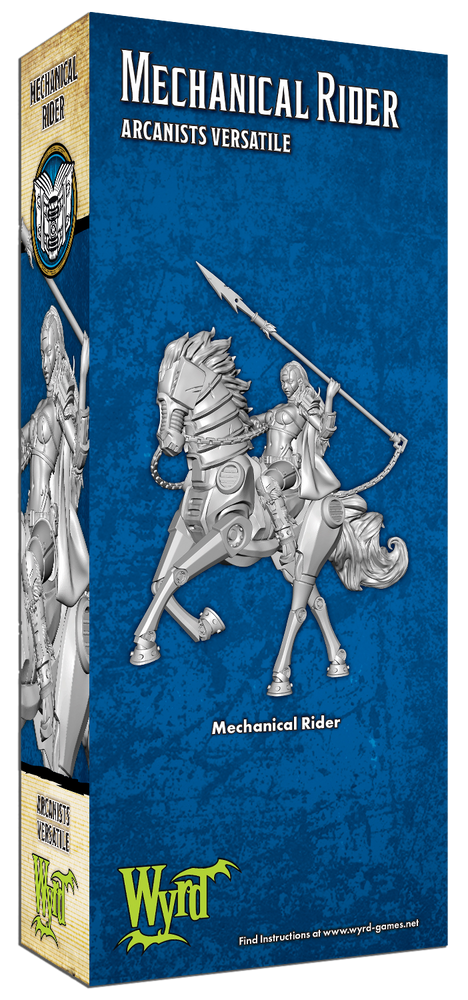 Load image into Gallery viewer, Mechanical Rider - Wyrd Miniatures - Online Store