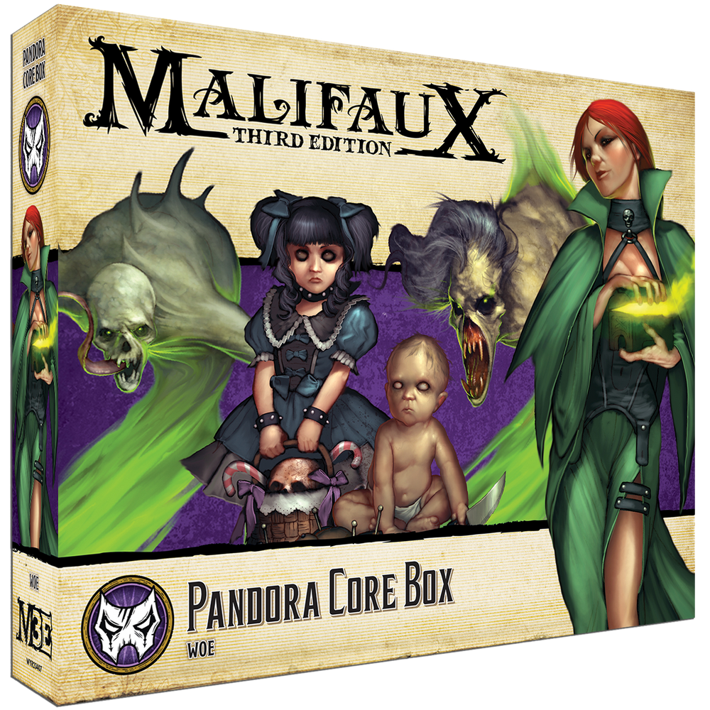 Load image into Gallery viewer, Pandora Core Box - Wyrd Miniatures - Online Store