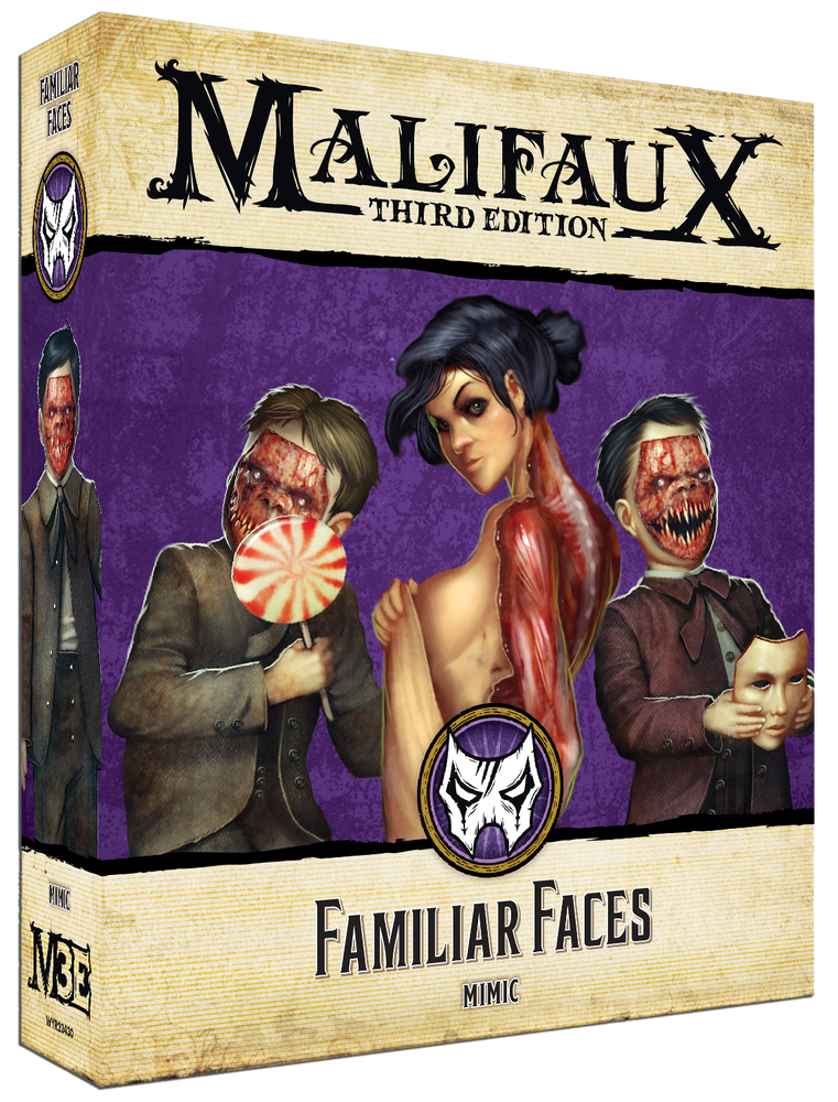 Familiar Faces - Wyrd Miniatures - Online Store