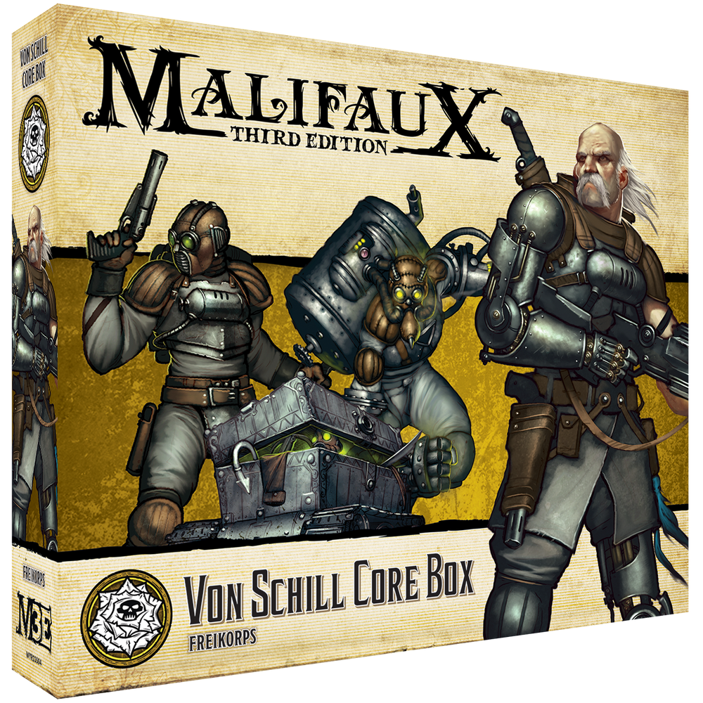 Load image into Gallery viewer, Von Schill Core Box - Wyrd Miniatures - Online Store