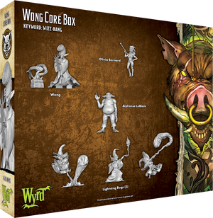 Load image into Gallery viewer, Wong Core Box - Wyrd Miniatures - Online Store