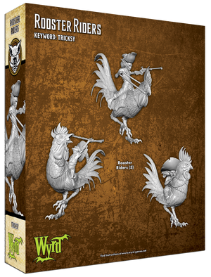 Load image into Gallery viewer, Rooster Riders - Wyrd Miniatures - Online Store