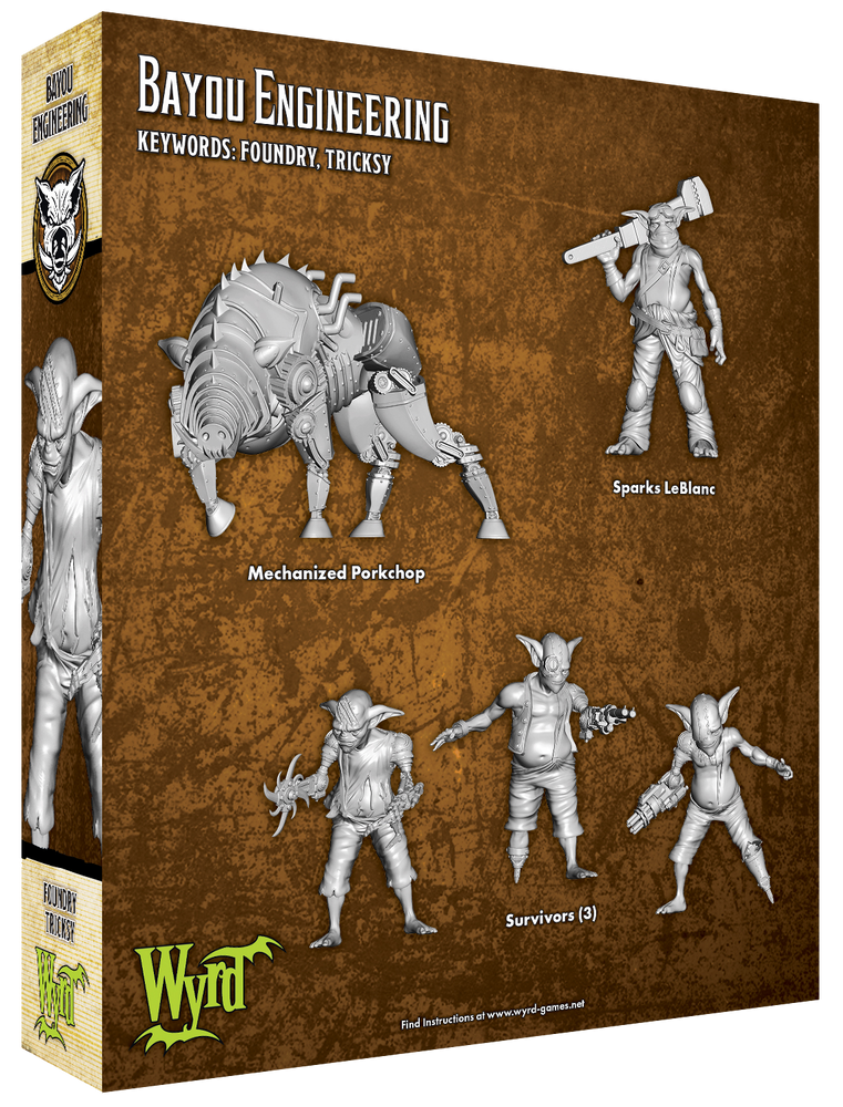 Load image into Gallery viewer, Bayou Engineering - Wyrd Miniatures - Online Store