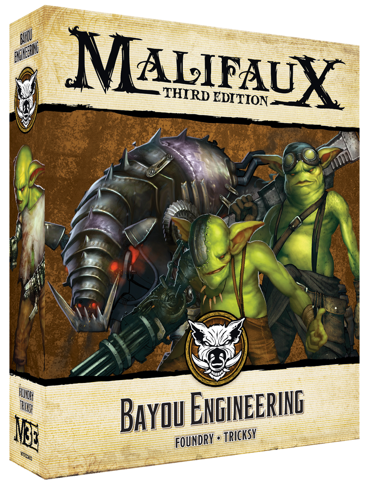 Bayou Engineering - Wyrd Miniatures - Online Store