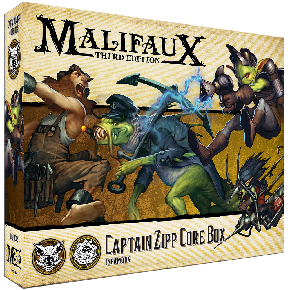 Load image into Gallery viewer, Captain Zipp Core Box - Wyrd Miniatures - Online Store